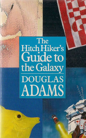Cover of The Hitchhiker's Guide to the Galaxy by Douglas Adams