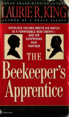 Laurie R. King The BeeKeeper's Apprentice book cover